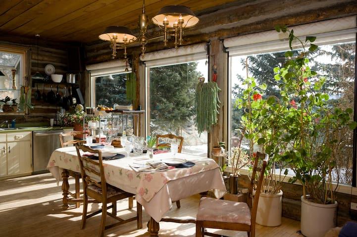 Pioneer Mountain Cabin & Art Studio - Boulder