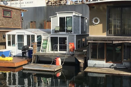 Charming Lake Union Houseboat - Seattle - Boat