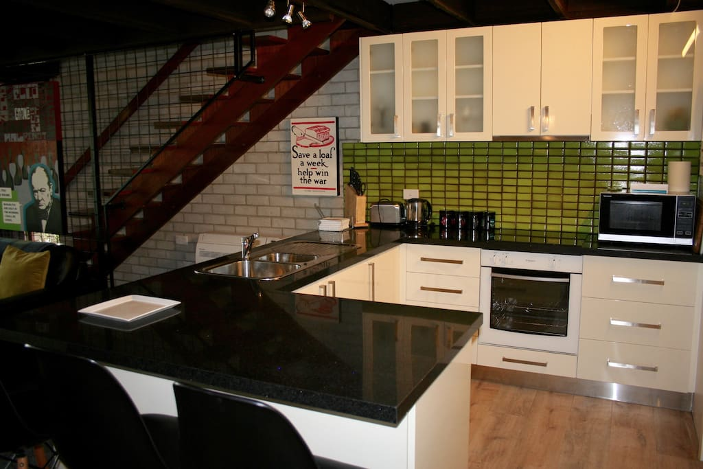 New, well equipped modern kitchen