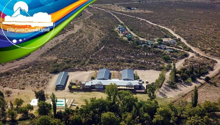 Hostería en Valle Grande - Santa Clara del Atuel