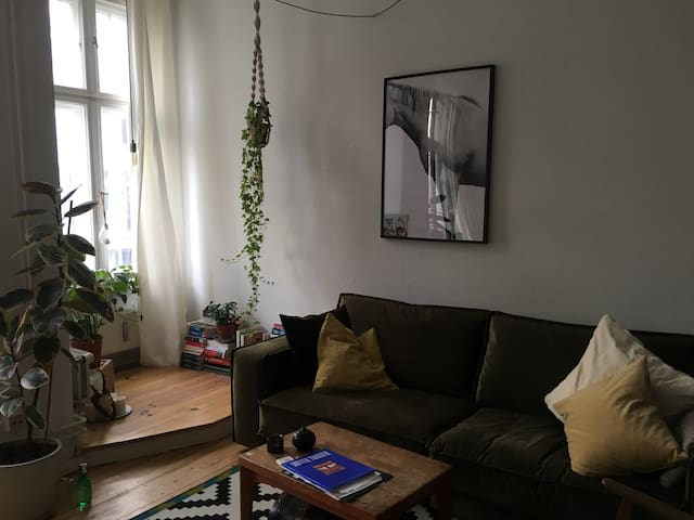 Beautiful spacious flat in the heart of Neukölln