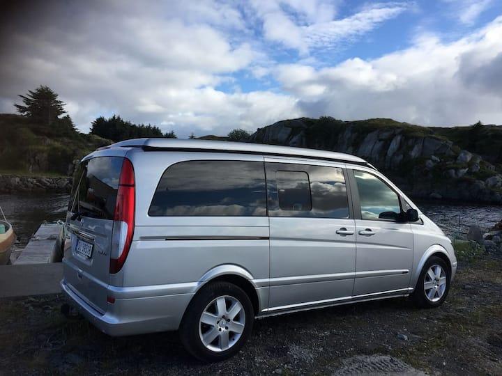 Nice campervan  Mercedes Viano London  in Bergen