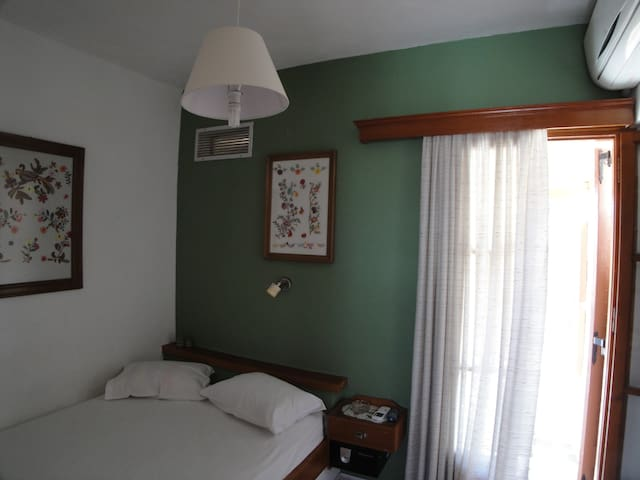 2.3) Lovely double room by the beach....