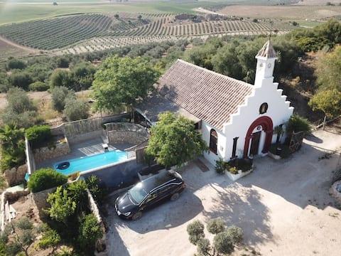 Casa de campo junto a Laguna Tíscar