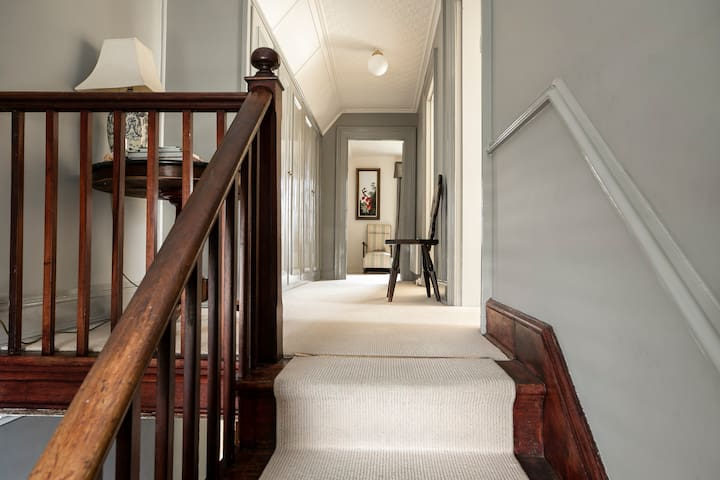 Stairwell to upstairs