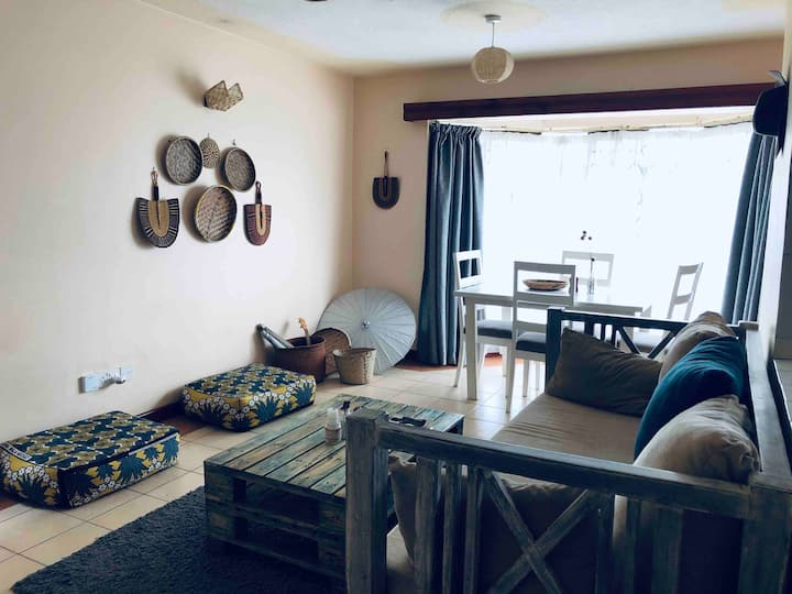 Afro Chic One Bedroom Apartment