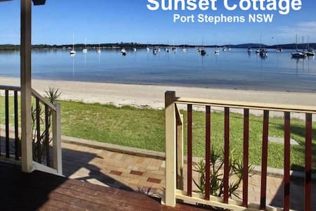 Sunset Cottage, Port Stephens - Corlette - Hus