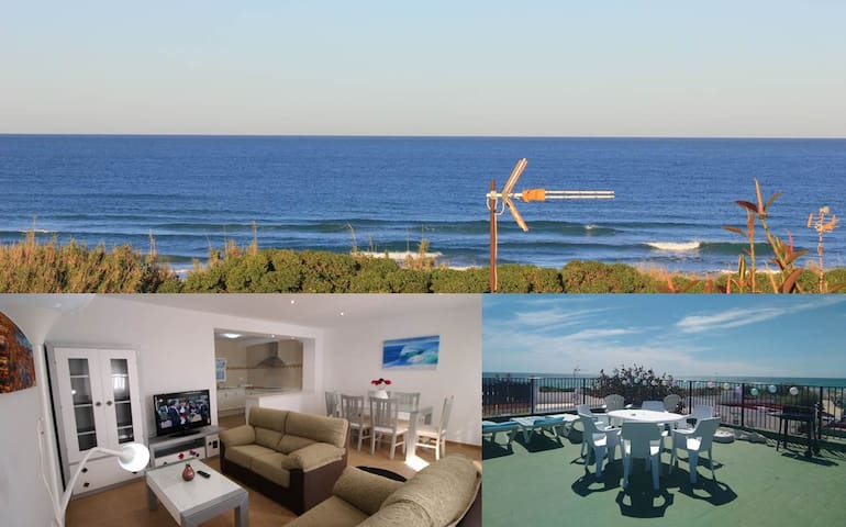 Sunset View Beach House EL PALMAR, 6 people  (NEW)
