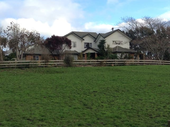 Rural yet close to Auckland city - Runciman - Haus