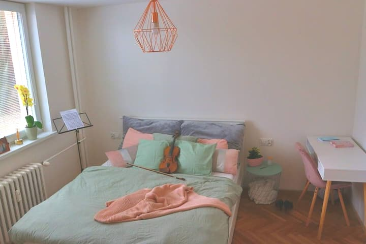Cosy apartment in pastel colours