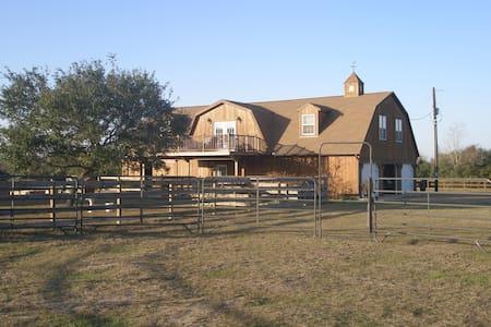 Carriage House on a Texas ranch. - Yoakum