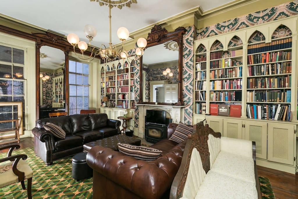 Comfortable Study /  / Living room