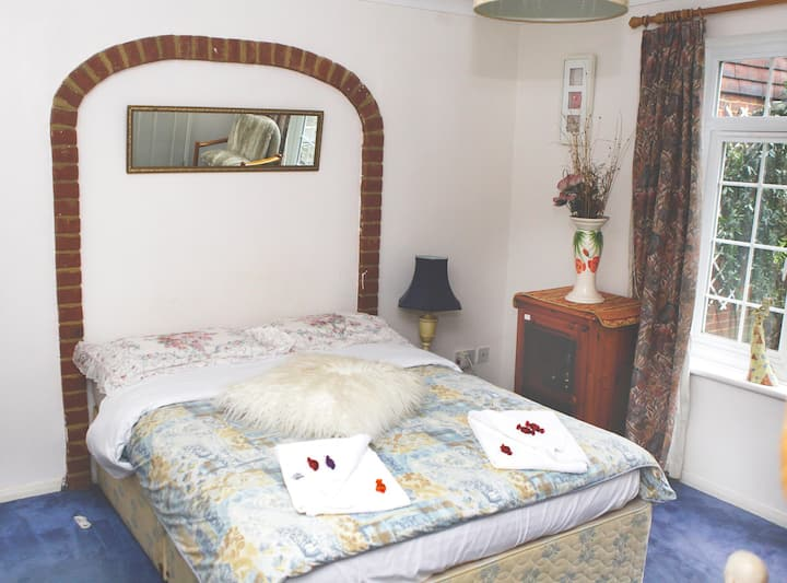 Sleeps 1 person. Private bedroom