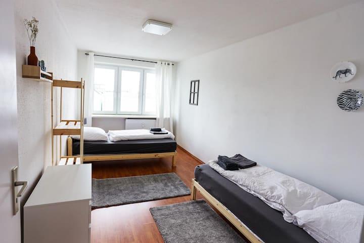 VS02 Helles 4 Zimmer Apartment mit tollem Ausblick im Zentrum