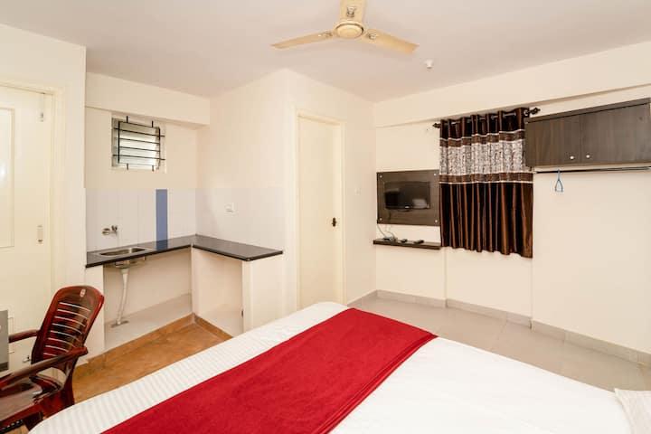 Studio flat with Wifi-Balcony-Bannerghatta road