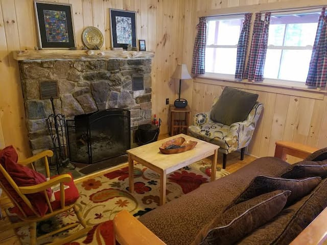 Red Adirondacks 2 Bedroom Cabin - Johnsburg  - Cabin