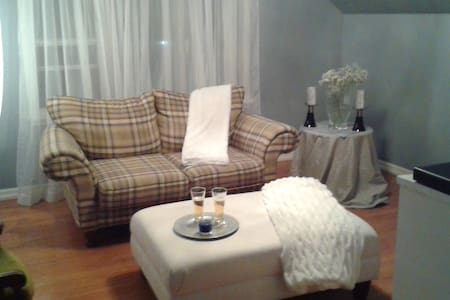 Robin's Nest, Luxurious loft like apartment - Sault Ste. Marie - Appartement