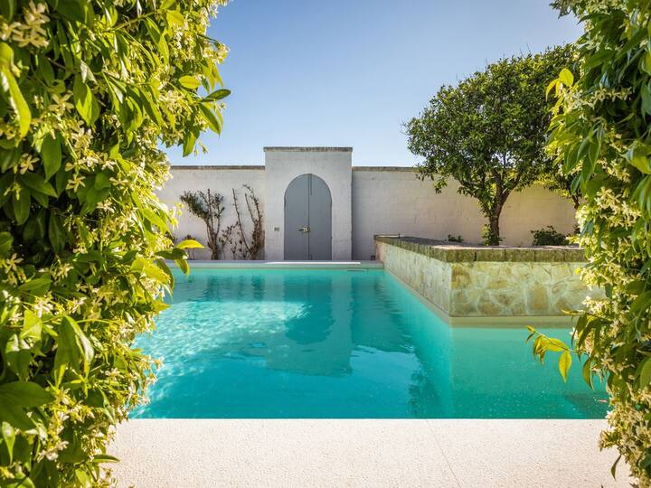 Otranto design villa with garden and pool