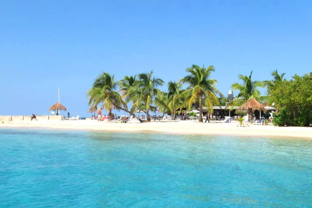 THIS BEAUTIFUL BEACH IS WAITING FOR YOU.
