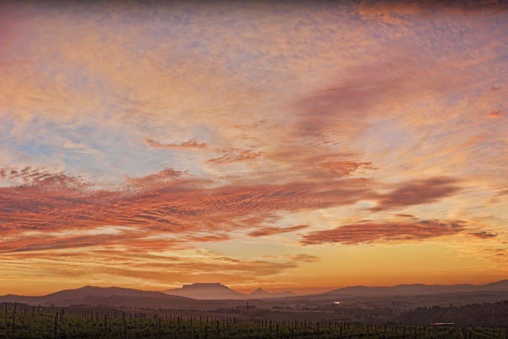 Exquisite sunsets