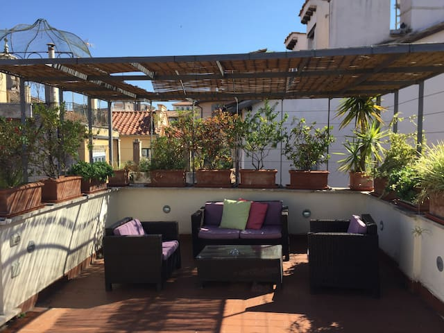 A big terrace in the center of Rome - Rome - Apartment