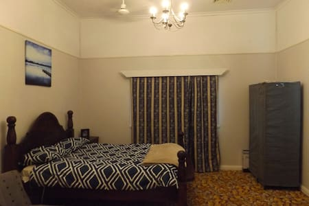 Master bedroom in MiIlaa Millaa QLD - Millaa Millaa