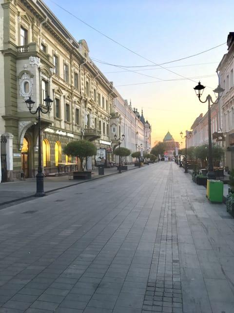 Квартира у Кремля Б.Покровская.Тихо уютно  Центр.