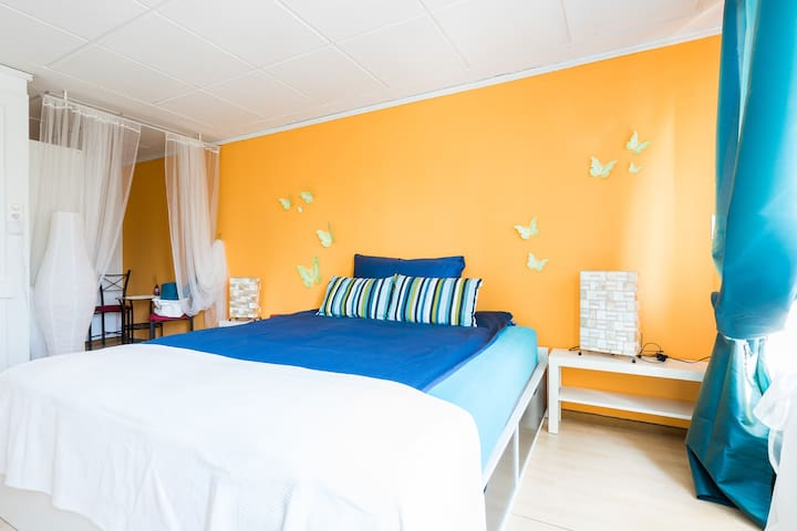 B&B Huus zur Vielfalt-Schmetterling - Winterthur - Bed & Breakfast