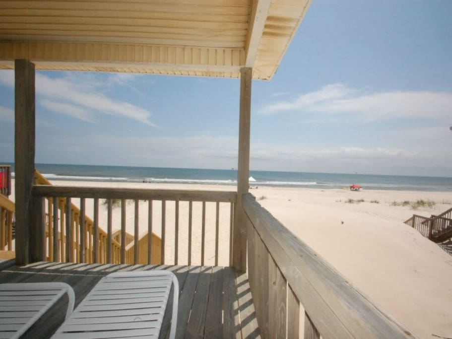 Imagine Relaxing on Your Beach Front Deck