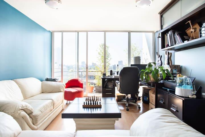Excelente ubicación,espectacular vista,SmartTV 65'