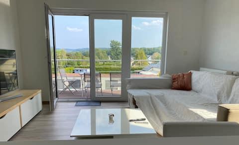 Appartement neuf dans une nouvelle construction