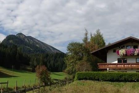 Landhausstil mit eigener Terrasse - 6675 Tannheim - Apartment