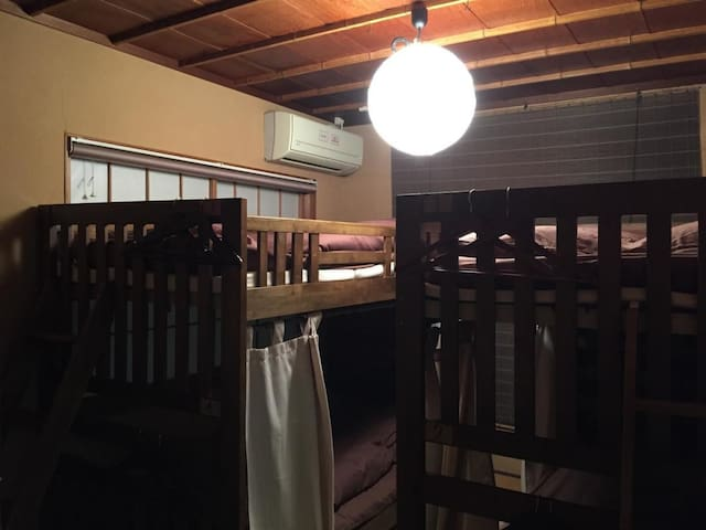 6 min on foot from Nagoya Kanayama sta. For sightseeing Nagoya Castle ! Family room