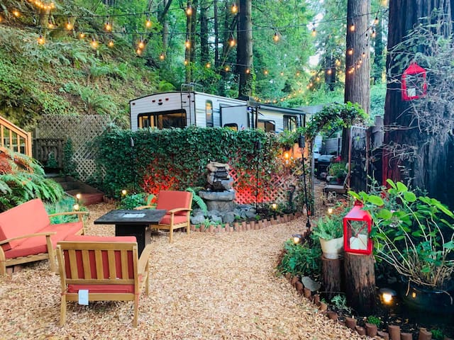 Russian River Luxury Glamping in the Redwoods