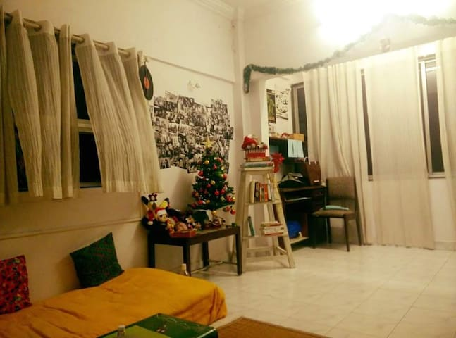 A Relaxed Chic Haven in Khar/Bandra - Bombaim - Apartamento