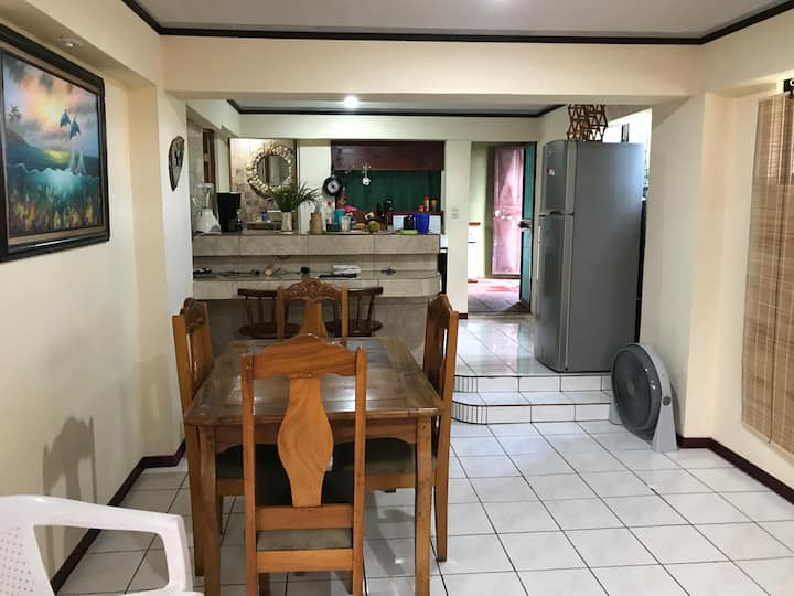 Puntarenas home- Walk 2 Beach- Private First Floor
