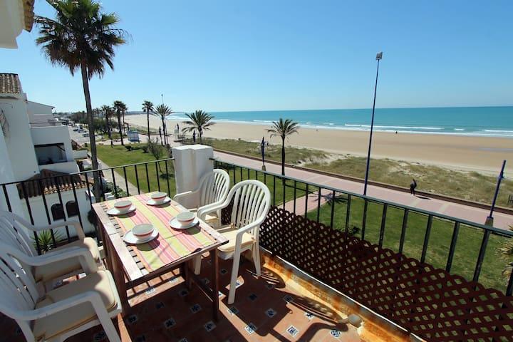 Apartamento primera linea de playa BMAR2D - Chiclana de la Frontera - Apartament