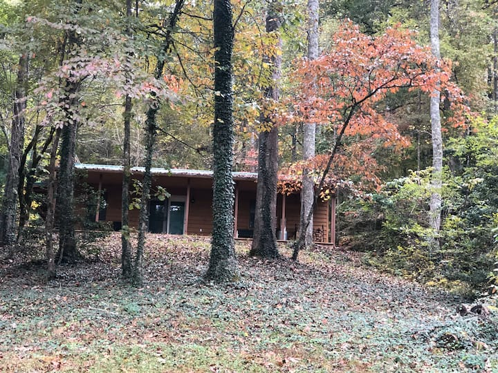 Enjoy Mountain Life at the Cabin at Holly Hill
