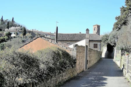 Holiday house in a beautiful medieval village. - Arquà Petrarca - Departamento
