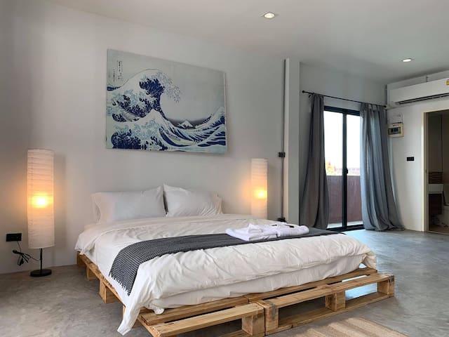 The Corner Bedroom