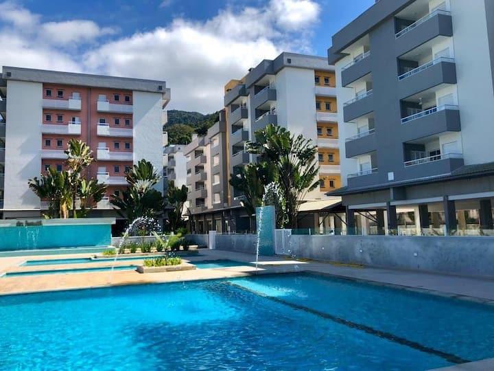 Apartamento em Ubatuba próximo à praia