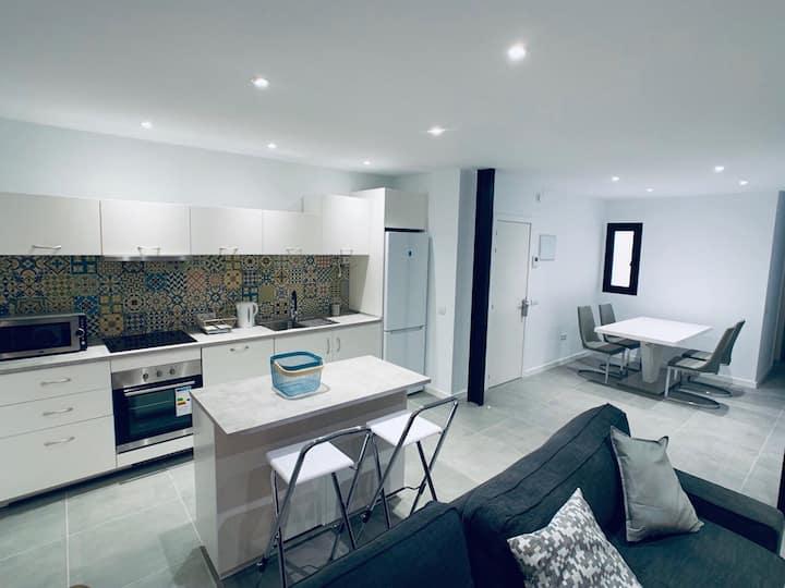 Elegante y cómodo apartamento en la capital