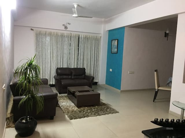 A comfort home in S G Road Ahmedabad with openview