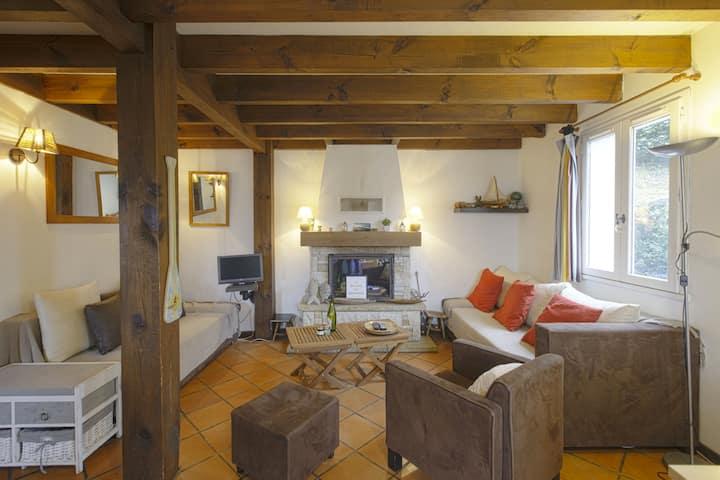 """""""Maison du Bonheur"""" avec jardin et jacuzzi !!!"""