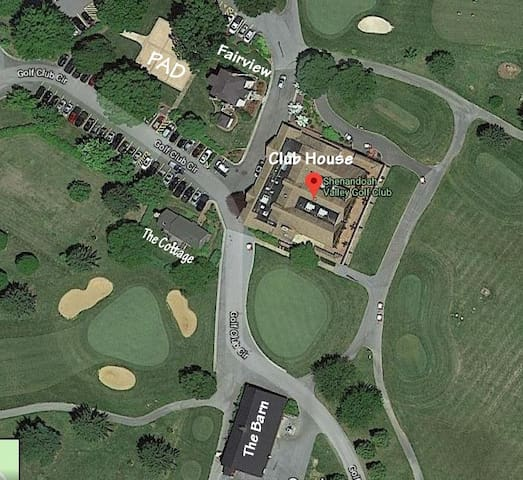 Arial View of Shenandoah Valley Golf Club