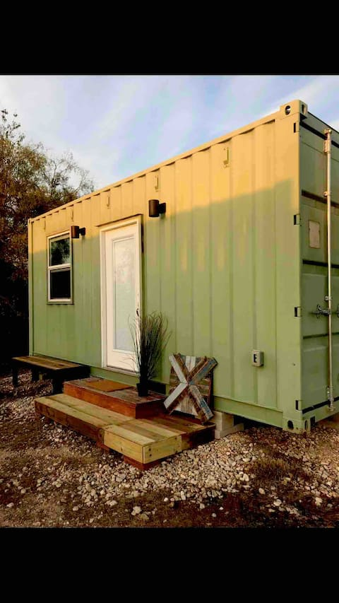"""Tiny Home/Double Container Home-Jolly Green Giant"""""""