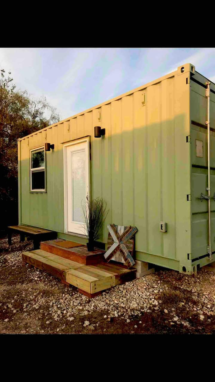 Tiny Home/Double Container Home-Jolly Green Giant""
