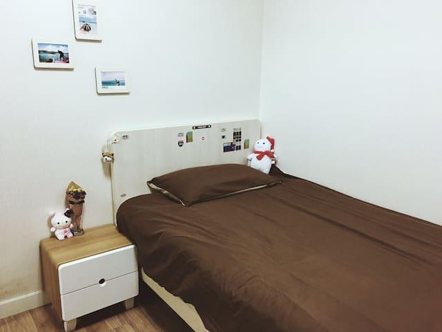 位于首尔中心交通便利的家庭式友好型公寓 - Jung-gu - Appartement