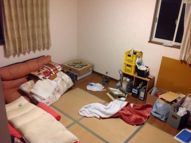 2階の個室 風呂トイレ洗濯機共用  - Tsuruga-shi - Hus