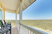 One of two private balconies off the master bedroom. Enjoy views as far as you can see.